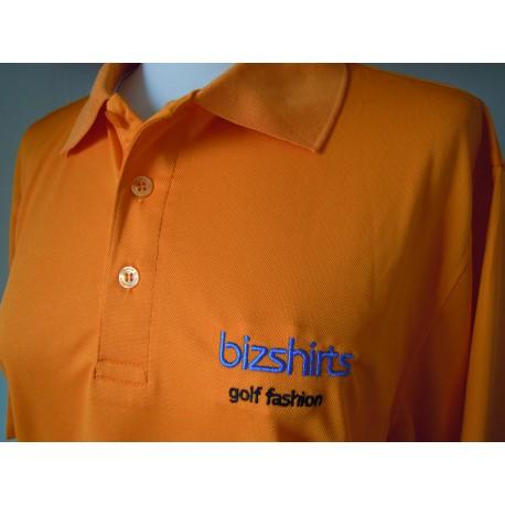 Mens`s Golf Polo orange