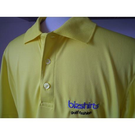 Men´s Golf Polo gelb