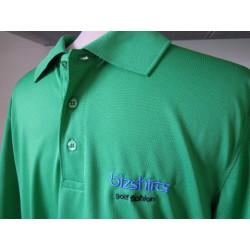 Herren Golf Polo, grün