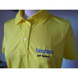 Ladies Golf Polo Shirt gelb