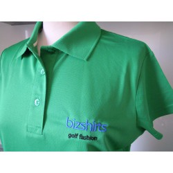 Ladies Polo Shirt grün