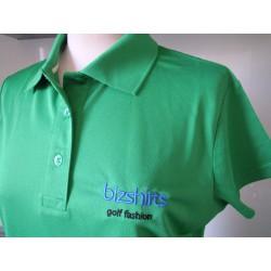Damen Golf Polo, grün