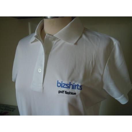 Ladies Polo Shirt weiß